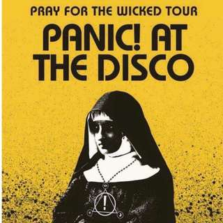 LOOKING FOR THREE (3) LOWERBOX B/ UPPER BOX/ GENERAL AD. PANIC! AT THE DISCO TICKETS