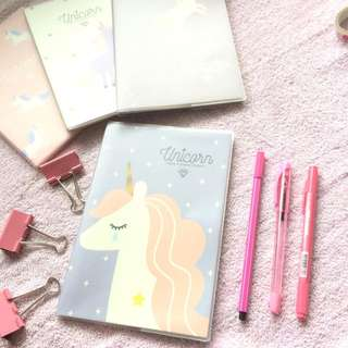 Unicorn Inspired Notebook