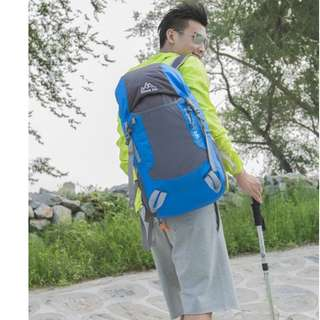 Cleverbees Waterproof Foldable 35L Travel Hiking Backpack Bag FreeShipping CashOnDelivery