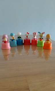 Sanrio figurine stamper