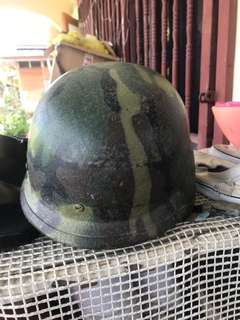Vintage army head gear
