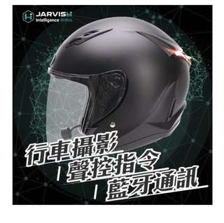 🚚 JARVISH F1智能安全帽