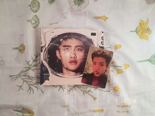 EXO Album with Sehun Photocard