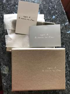 Agnes B Card Holder box 空盒