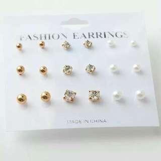 9in1 Fashion Earrings Set