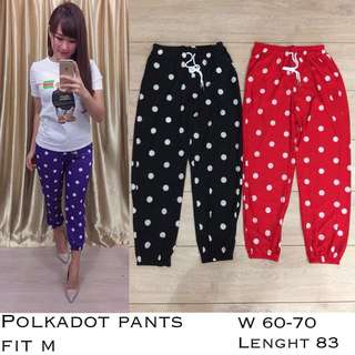 Long Pants polkadot