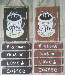Coffee hanging decor