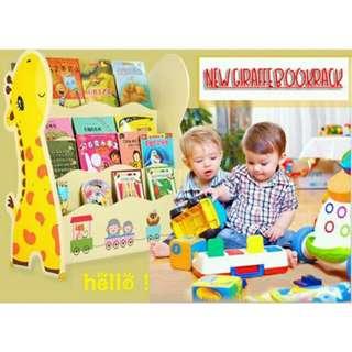New Giraffe BookRack