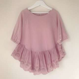 Girls lace top size 6