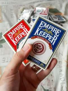 Empire Keepers Playing Cards