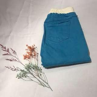 🚚 🇰🇷寶藍色內搭長褲 #女裝半價拉