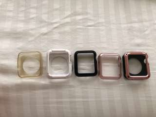 Set of apple watch cases 42mm