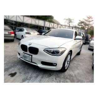 2012年  BMW   116I    白  ✅0頭款 ✅免保人✅低利率✅低月付 FB搜尋:阿源 嚴選二手車/中古車買賣