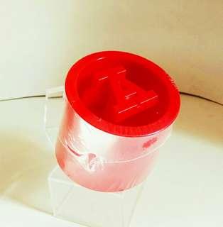 罕有香港製造: 红 A 廣告品擺設1個 (歲月收藏品)