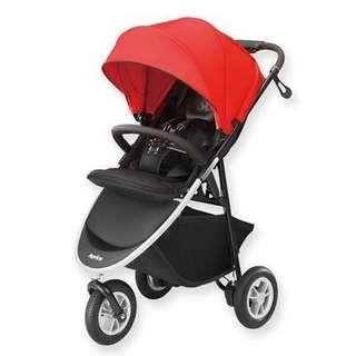 Aprica 愛普力卡 嬰兒手推車 SMOOOVE大三輪系列 紅樹林