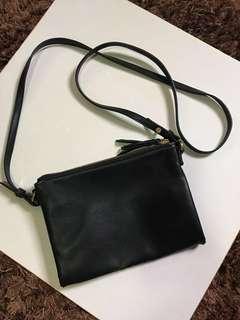 Old Navy Double Pocket Sling Bag