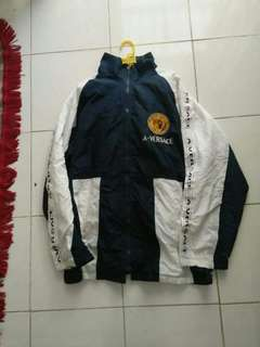 Versace basic winbreaker jacket