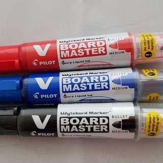 Pilot V Board Master Whiteboard Marker