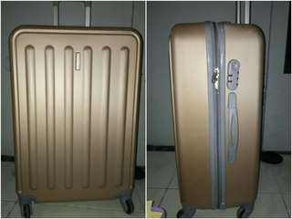 Polo twins Gold Suitcase