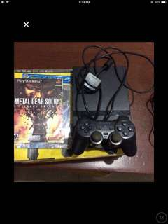Playstation2 with 2games