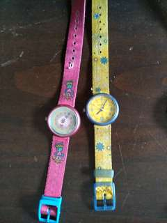 Swatch flik flak watches