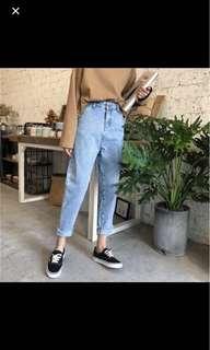 Korean Style Boyfriend Jeans