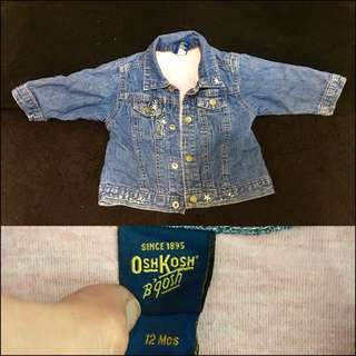 Preloved🌸 Denim Jacket For kids