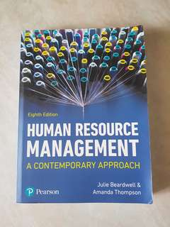 Pearson Human Resource Management Eighth Edition