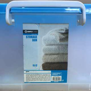 🚚 simplyliving storage box 15 litres