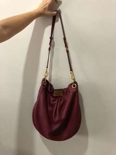 Marc by Marc Jacobs Maroon Sling Bag