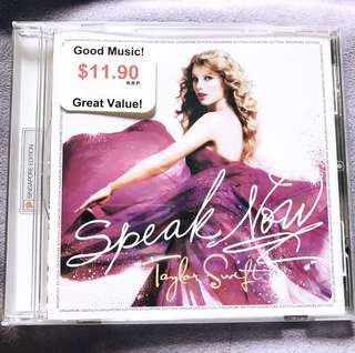 Taylor Swift's Speak Now Album