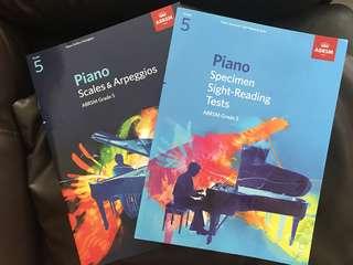 ABRSM Grade 5 Piano Book
