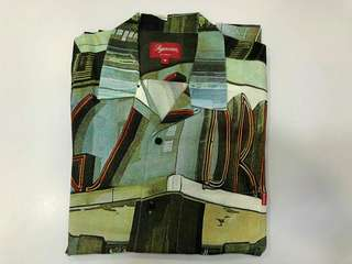 Supreme Drugs Rayon Shirt(size:M)