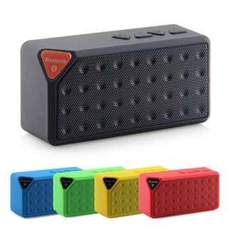 X3 Bluetooth V2.1 EDR Wireless Portable Speakers