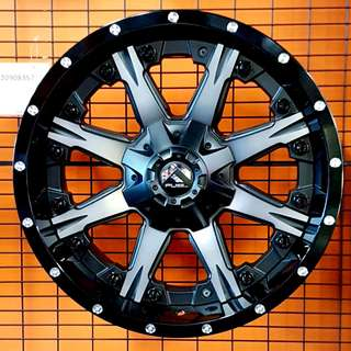 FUEL 4wd Performance Rims