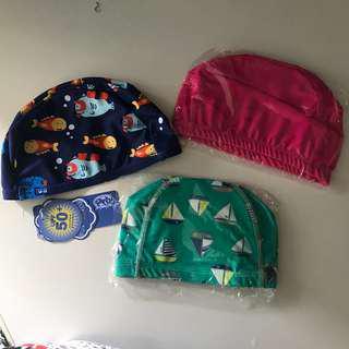 小童泳帽防UV