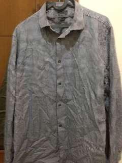 Preloved H&M checked shirt 💯% Original Brand