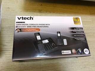 Bye hi twin digital cordless phone Smart 數碼室內無缐電話 子母機 vtech