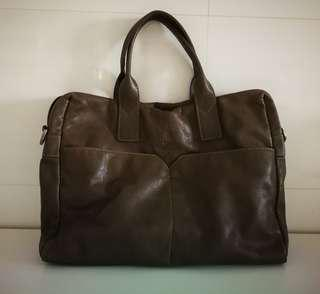 Hush Puppies Genuine Leather Bag (Unisex Sling bag)