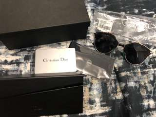 Brand New Dior So Real Sunglasses Palladium Black