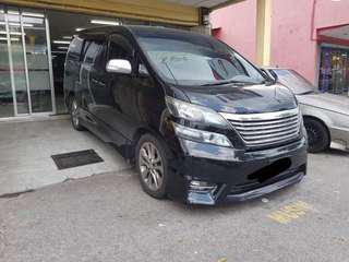 MPV CAR FOR RENT
