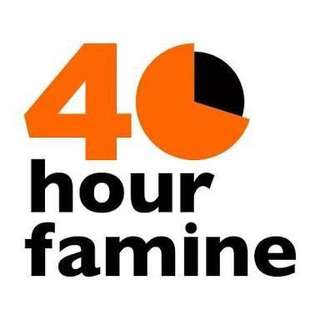 40 Hour Famine Donations!!