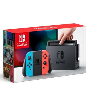 Brand New Nintendo Switch Console System (NEON) Local Set