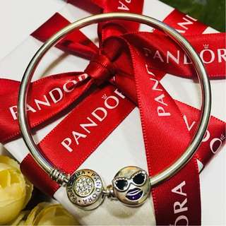 Authentic Pandora Charm Stay Cool Charm Pendant Italy Sterling Silver 92.5 (CHARMS ONLY)