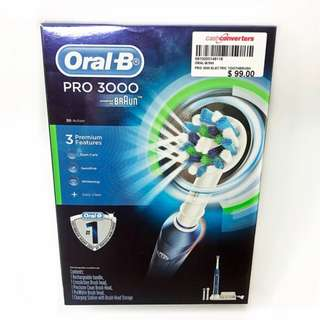 BNIB: Oral-B Power Rechargeable Toothbrush 3000 PRO