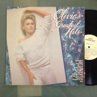 Lp Olivia Newton John (Greatest Hits) - piring hitam/vinyl