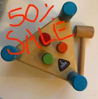 Mainan kayu ELC
