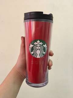 Red Starbucks 2016 Tumbler