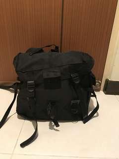 Saddle bags (a pair) black Color