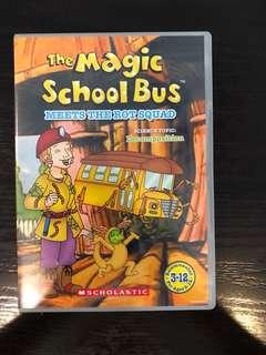 The magic school bus DVD